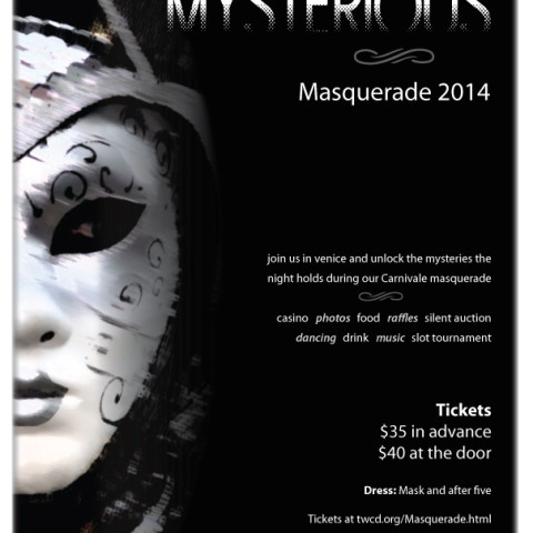 Masquerade 2014 Flyer