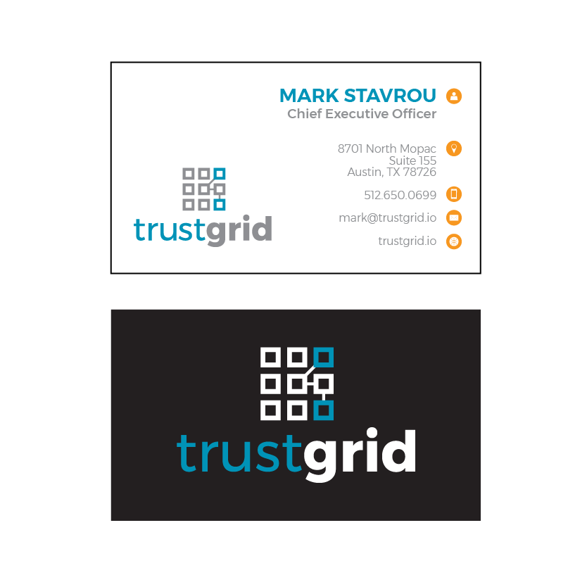 Tech Company Business Cards